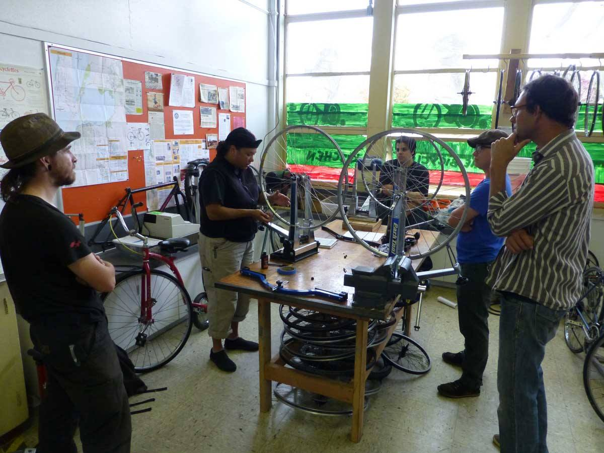 Community Bike Kitchen at Jefferson School