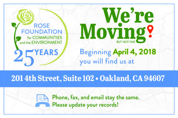 Beginni9ng April 4, 2018 you will find us at 201 4th Street, Suite 102, Oakland, CA 94607