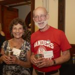 Rose Foundation attendees enjoying their special edition Film Fest Pint Cups!