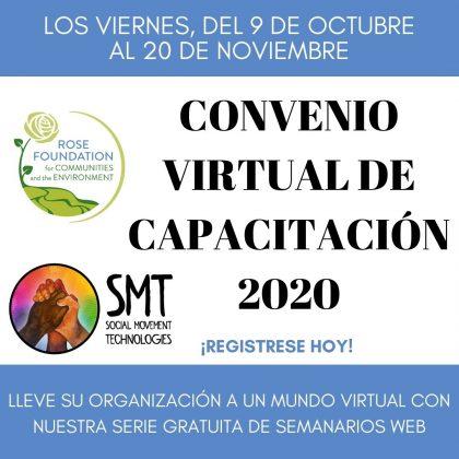 CONVENIO VIRTUAL DE CAPACITACIÓN 2020