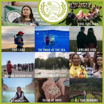 2020 Film Fest - Full Film Lineup