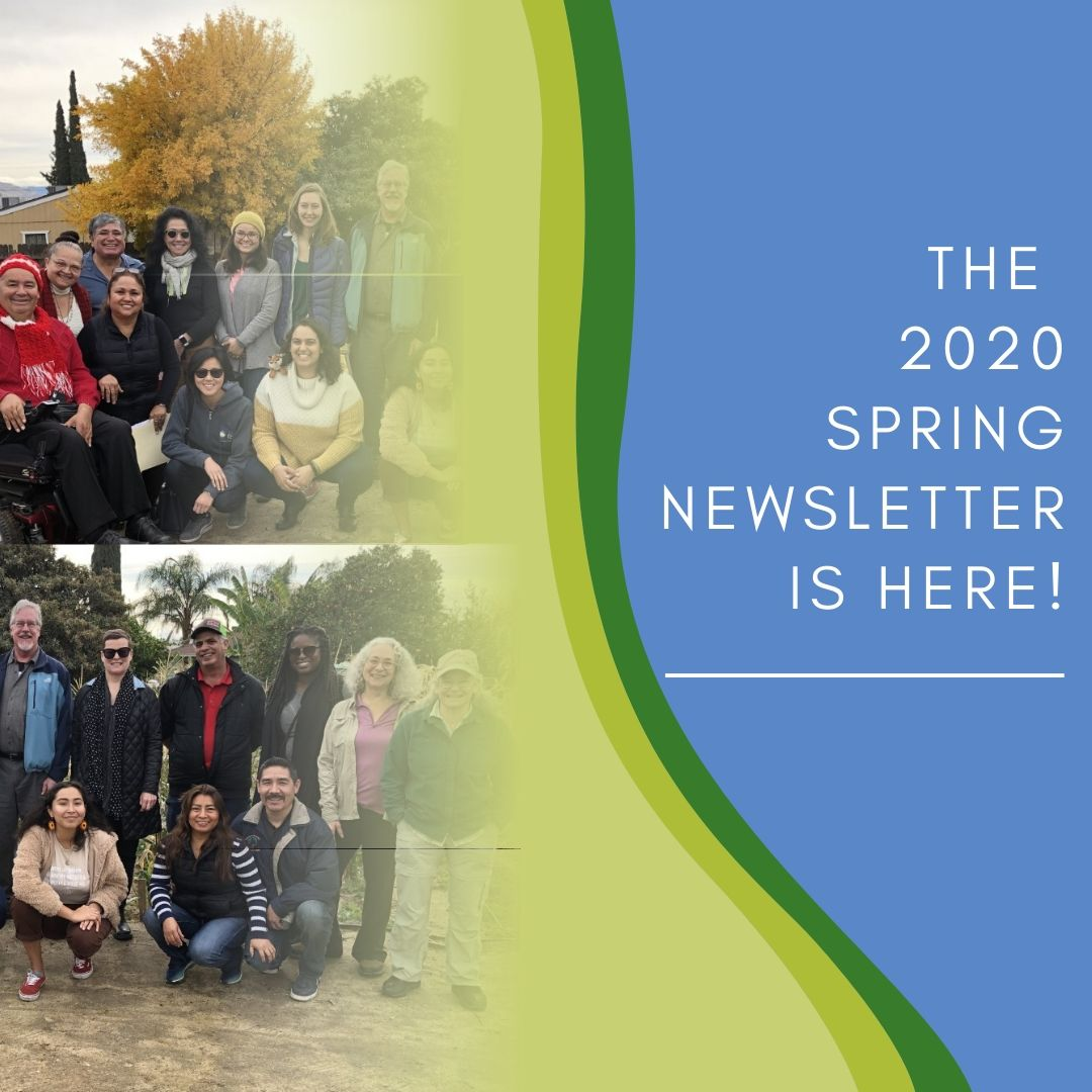 Our 2020 Spring Newsletter is here!
