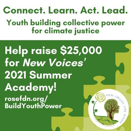 Support youth leaders today