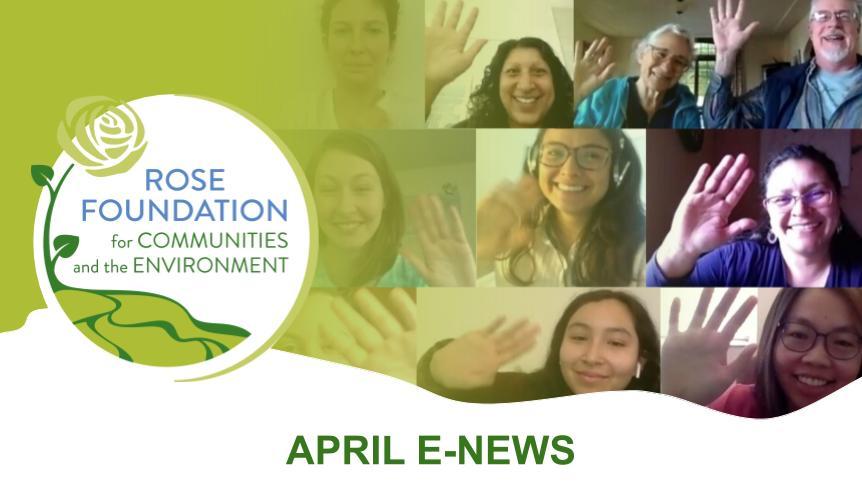 April 2020 E-News
