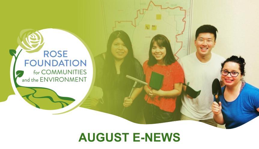 August 2020 E-News