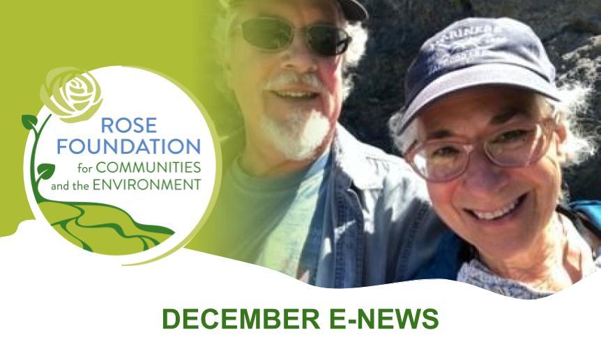 December 2020 E-News