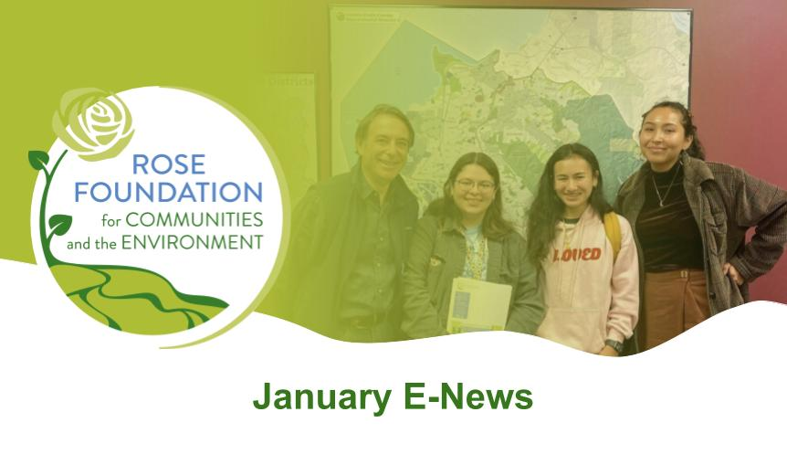 Read the January E-News!