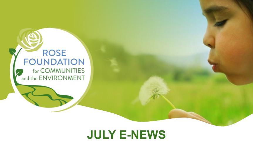 July 2020 E-News