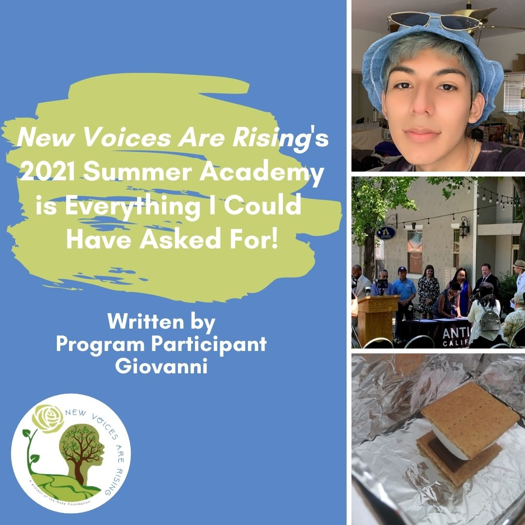 Giovanni shares his experience with the 2021 Summer Academy