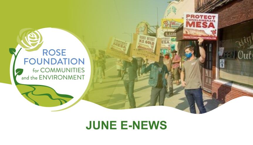 June 2021 E-News