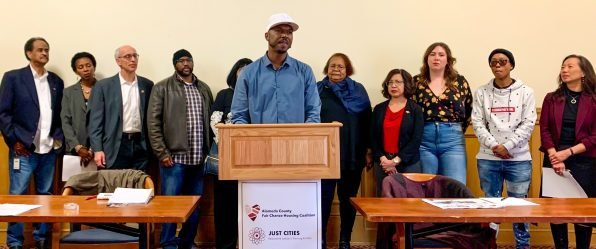 Fair Chance Housing Ordinance Press Conference