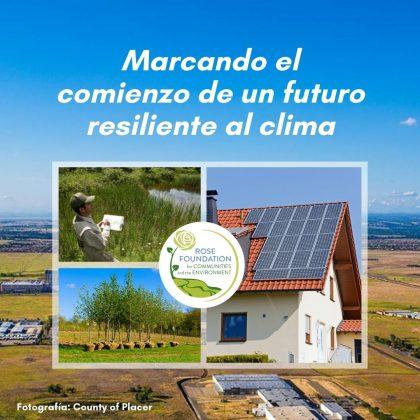 Marcando el comienzo de una futuro resiliente al clima