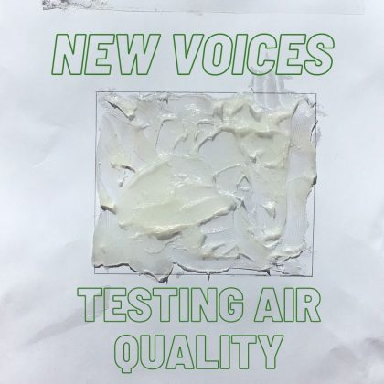 New Voices Testing Air Quality