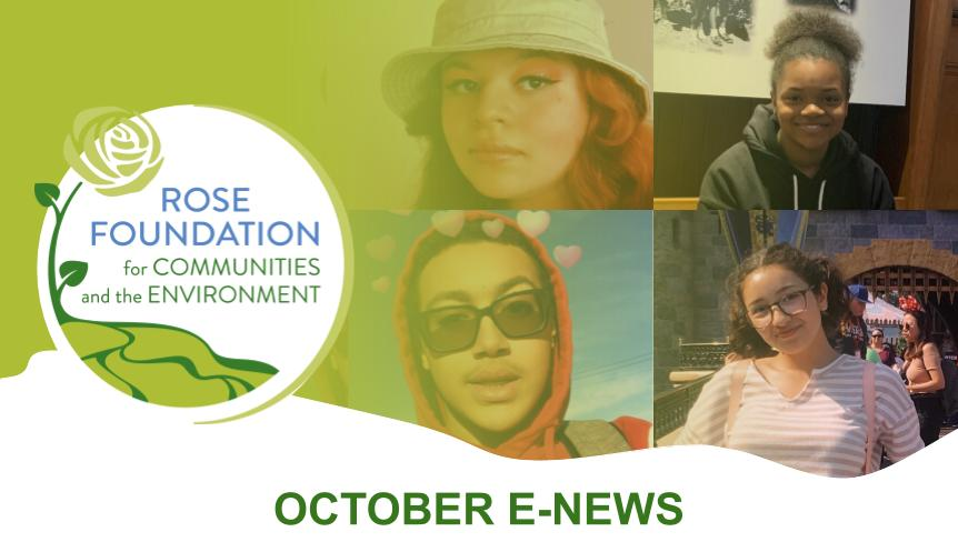 October 2020 E-News
