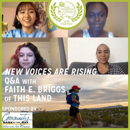 Q&A with Faith E,Briggs