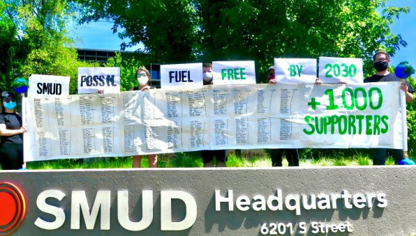 Sacramento Climate Coalition - SMUD Fossil Free