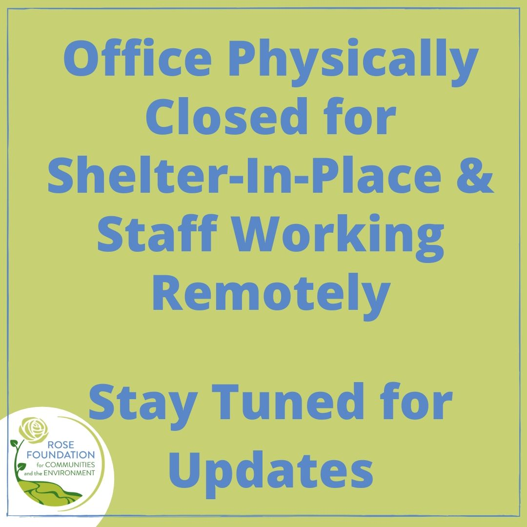 Office Physically Closed, Staff Working Remotely, Stay Tuned for Updates