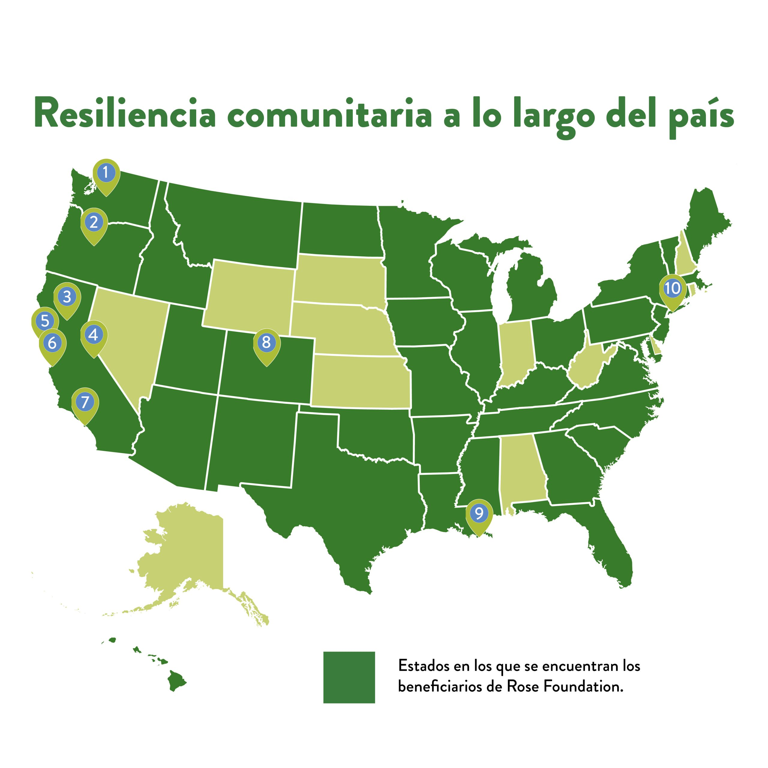 Resiliencia comunitaria a lo largo del país