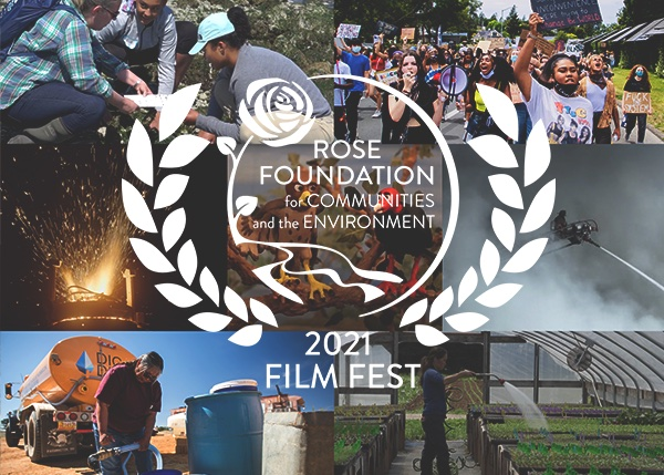 This year's film fest showcases over 25 films of grassroots activism and community resilience. These stories speak to the powerful work of communities across the country, including some of our own Rose Foundation grantees. We are proud to spotlight the following grantees featured in our 2021 Film Fest.
