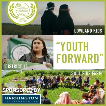 """Youth Forward"" Sponsored by Harrington Investments"